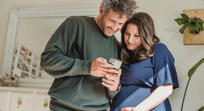 Mobile приложение для планирования беременности